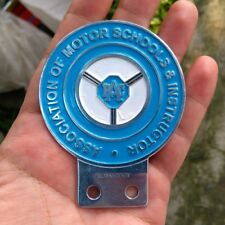 RAC Royal Automobile Club Association Motor Schools & Instructors Car Badge