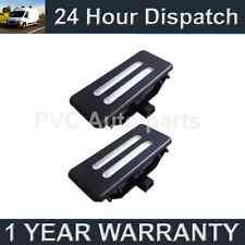 2X FOR BMW X1 E84 X3 F25 X5 E70 X6 E71 18 WHITE LED BLACK MIRROR SUN VISOR LAMPS