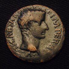 Roman Imperial AE As Emperor Tiberius (as Caesar) Rome AD 11-4