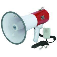 Megaphone with Safety Siren, Pistol Grip, Speaker, Handheld Microphone, 50 Watt