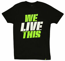 MusclePharm MP We Live This T-Shirt (Black)