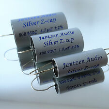 Jantzen Z-Silver Cap All Tube, 0,47 µF, 800 VDC