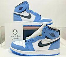 Jordan 1 Retro High White University Blue Black GS 575441-134 - FREE SHIPPING