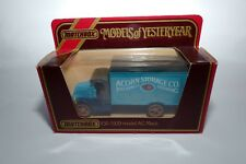 Y30 1920 AC Mack Acorn Storage Company Matchbox Models of Yesteryear