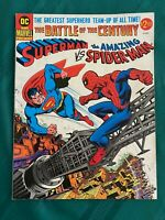 Superman vs Spider-Man Treasury - Fine / Very Fine (7.0)  - Off-White Pages!!!