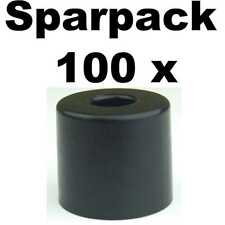 100 Gummifüße 38 x 33 stahlverstärkt Adam Hall 4913 Gummifuß Geräte Gehäuse Füße