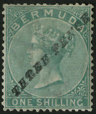 Bermuda  1874  Scott # 12a  Mint NG