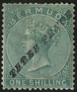 Bermuda  1874  Scott # 12a  Mint NG