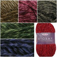 King Cole Big Value Super Chunky STORMY Acrylic Knitting Crochet Yarn Wool 100g