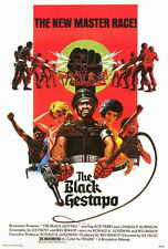 THE BLACK GESTAPO Movie POSTER 27x40 Rod Perry Charles Robinson Phil Hoover