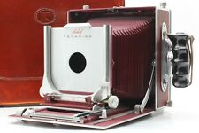 � Rare! Red w/ Trunk 】 Linhof Munchen 5x7 Large Format Film Camera from Japan