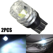 2x T10 White LED 194 168 W5W COB Car Interior Wedge lamp Side Light Bulb 12V