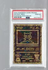 2000  PROMO ANCIENT MEW HOLO FOIL PSA 10 MOVIE Pokemon
