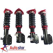 Red Full Coilover Suspension Kit Struts Shock Absorbers For 02-07 Impreza WRX