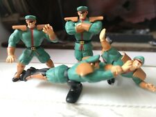 X4 TAKARA TOMY Artes Street Fighter 2 Vega M. Bison Gashapon Mini Escritorio figuras