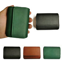 Travel Carrying Leather Case Storage Bag for Sony WF-1000XM3 Wireless Headset