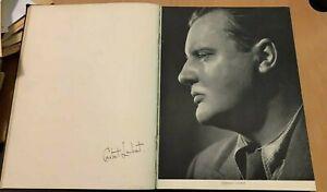 Vic Wells Ballet 1938 Original signatures Fonteyn Helpmann Honer May + others