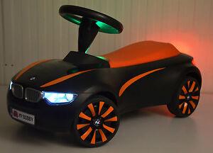 BMW Baby Racer III Rutschauto mit LED Licht, Hupe & Wunschkennzeichen in Design1