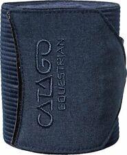 Pferde Bandagen CATAGO Navy elastische Bandagen