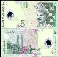 Malaysia - 5 Ringgits - UNC polymer currency note - 2004 issue