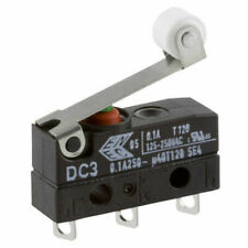 ZF Dc3c-a1rb Microswitch SPDT 0.1a 250v AC Short Roller Solder Ip67