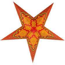 "24"" Arabian Paper Star Lantern, Hanging Decoration"