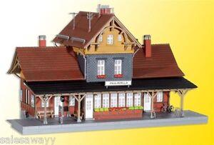 Kibri 39491 Estación Tren, Kit Construcción, H0
