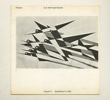 1969 Paul Rand POSTERS BY E. McKNIGHT KAUFFER rare IBM Gallery Exhibit Catalog