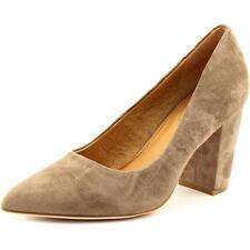 Zapatos de tacón de mujer de tacón medio (2,5-7,5 cm) de ante talla 37