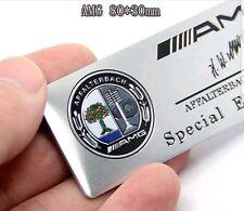 AMG Badge Logo Schriftzug Emblem Plakette B E C SL CLS S CL A SLK CLA Aufkleber