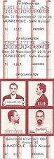 RARE / TICKET SPECTACLE COMIQUE CONCERT - ELIE SEMOUN & DIEUDONNE A DUNKERQUE 97