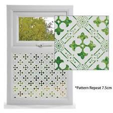 Verre gravé effet film de fenêtre, les styles victorien, design Gothique Motif Fenêtre