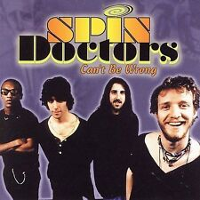 Can't Be Wrong by Spin Doctors (Cassette, Jul-2001, Sony Music NEW Sealed