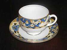 Rare 1927-1935 Vintage Royal Albert Crown China Hawthorne Cup and Saucer England