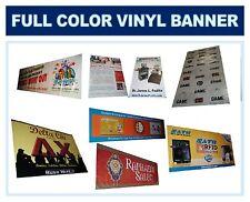 Full Color Custom Banner, Graphic  Vinyl Sign 4' X 30'