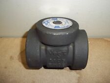 """VOGT SWING CHECK VALVE 3/4"""" 800 FORGED SWS74 NEW 1C0411"""