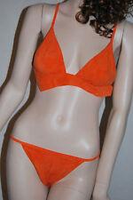 LA PERLA Bikini Neckholder 36 38 BATIK Blickdicht 155,- sehr weich FM-MAV-30