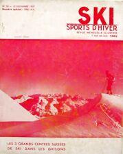 Ski Sports d'Hiver n°50 - 1937 - St Moritz - Davos - Arosa -