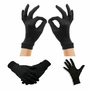 Thin Pure Silk Liner Gloves Thermal Ski Motorcycle Skiing Walking Inner Gloves
