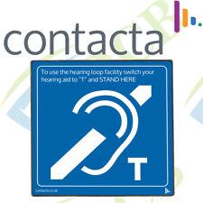 Contacta Supaloop Aerial Hearing Loop System Kit Talk Through Glass