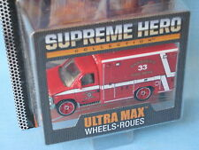 Matchbox Ford Ambulance Pasadena Rescue 33 Supreme Hero Toy Model Car 75mm