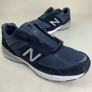 New Balance Mens M990 V5 Running Shoes Blue M990NV5 Low Top Sneakers 16 4E New