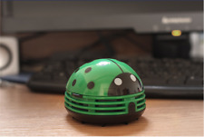 Mini Desktop Vacuum Cleaner for Kids Toy Ladybug Office Home Keyboard Sweeper