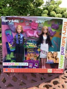 Mary -Kate And Ashley Dolls Travel in Style Paris