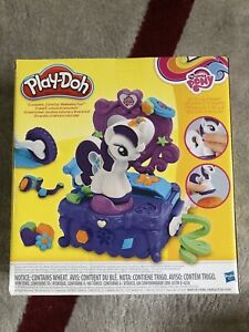PlayDoh My Little Pony Rarity Style Spin. Ages 3+ Contains 5 PlayDoh Colors NEW