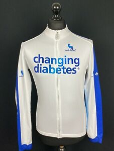 New Men/'s Nalini Long Sleeve Cycling Base Layer White L//XL