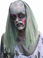 Morris Costumes New Grave Robber Scary Zombie Straight Sooty White Wig. FM66461