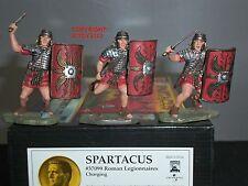 CONTE 37099 SPARTACUS ROMAN LEGIONNAIRES CHARGING METAL TOY SOLDIER FIGURE SET