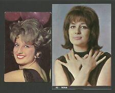 MINA Pop Music Singer Fab Card Collection