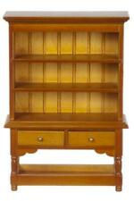 Dolls House Walnut Hutch Dresser Miniature Dining Room Furniture 1:12